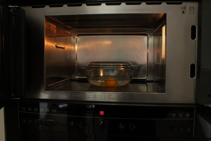 Microwave Poached Egg Microwave Directions Image