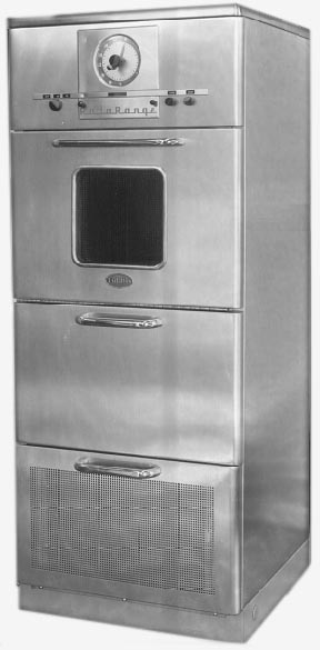 history of the microwave oven The first commercial microwave oven, raytheon's radarange, was invented in  the usa in the late 1940s domestic models began to sell in japan in 1966 and.